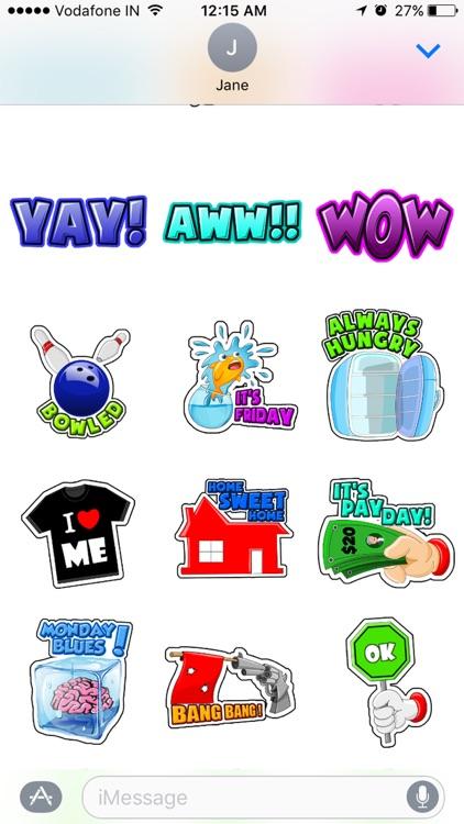 Toon Stickers screenshot-4