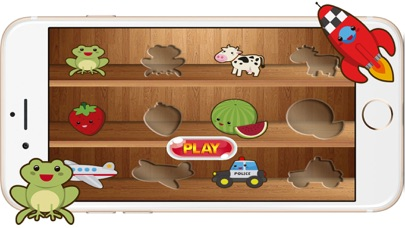 Cartoon Matching Puzzles Games for Preschool Kids