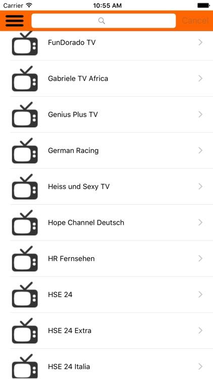 Germany TV Online Channels screenshot-3