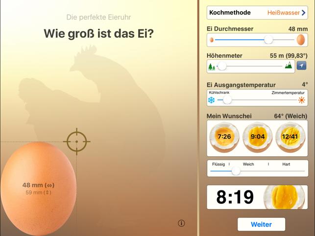 Die perfekte Eieruhr Screenshot