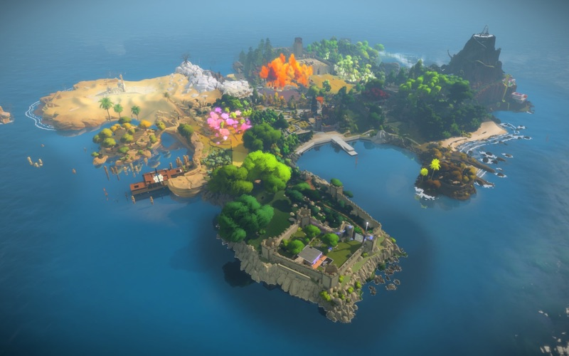 Screenshot #1 pour The Witness