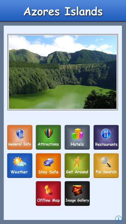 Azores Island Offline Guide screenshot-0