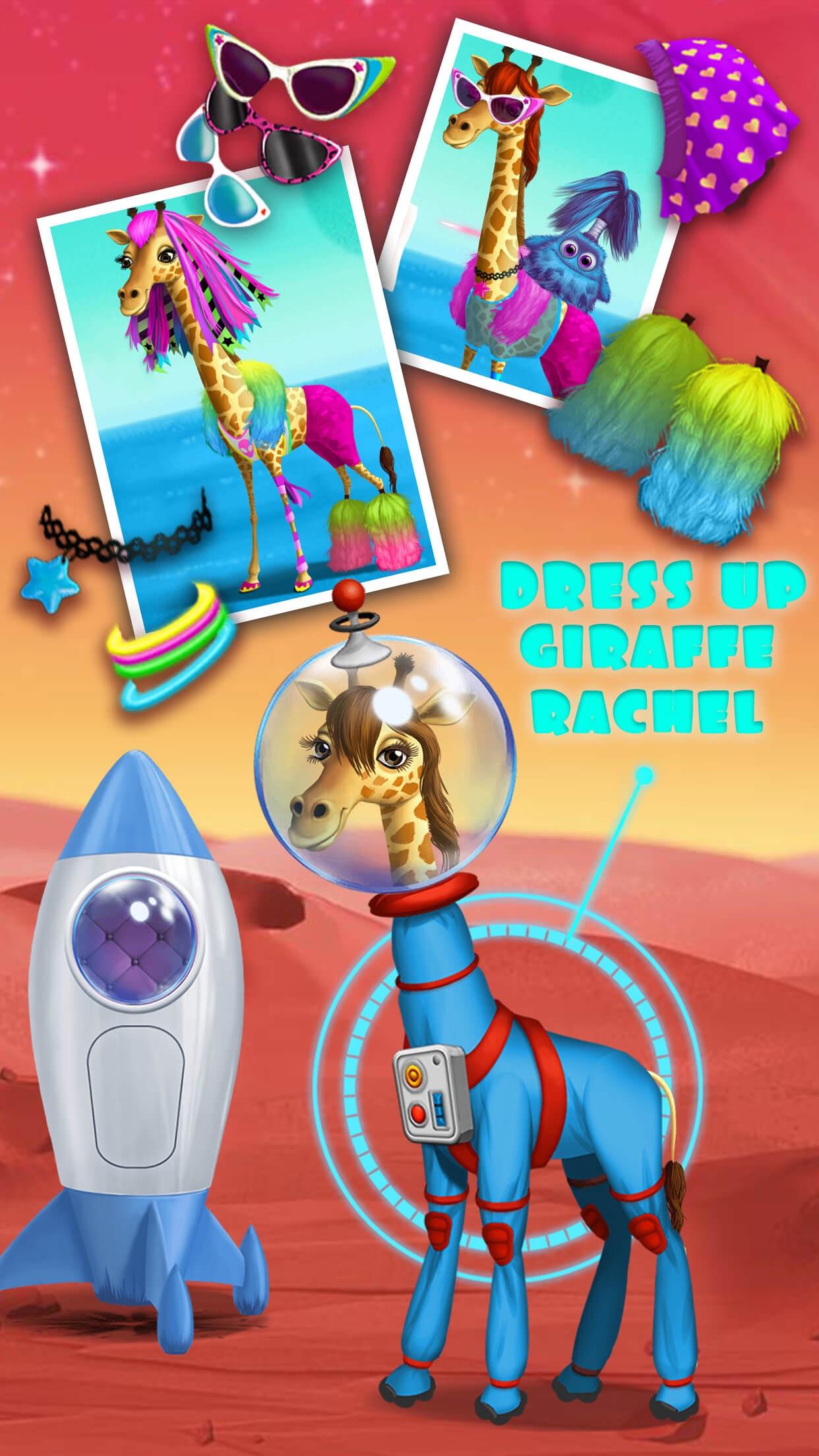 Space Animal Hair Salon – Cosmic Pets Makeover Screenshot