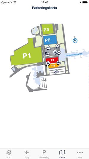 Karta Bromma Arlanda.Swedavia Airports I App Store