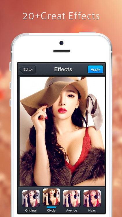 Image Editor - Filters Sticker