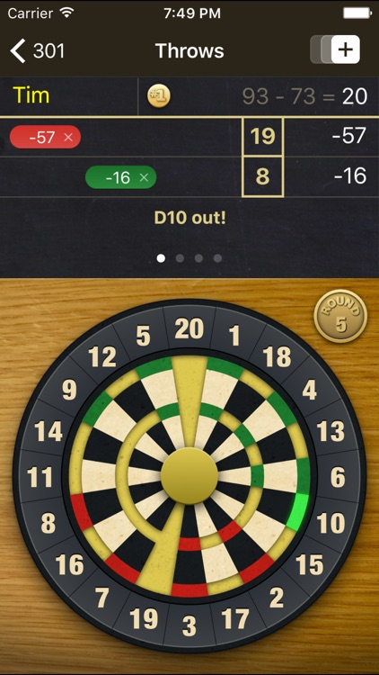 Dart Meister - The Darts Scorer