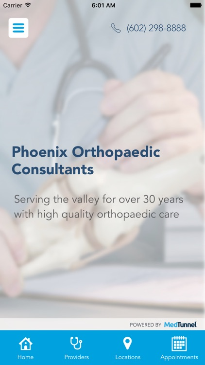 Phoenix Orthopaedic Consultants screenshot-0