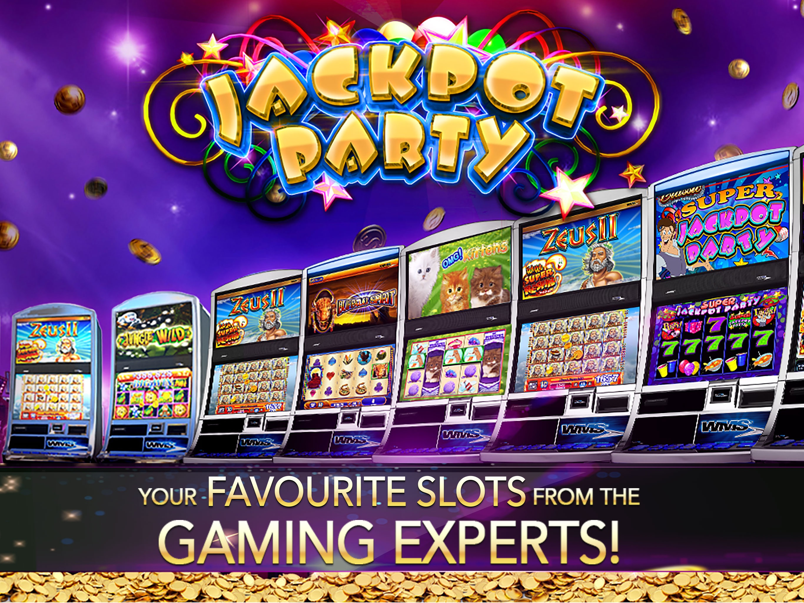 Slots! Jackpot Party Casino HD Screenshot