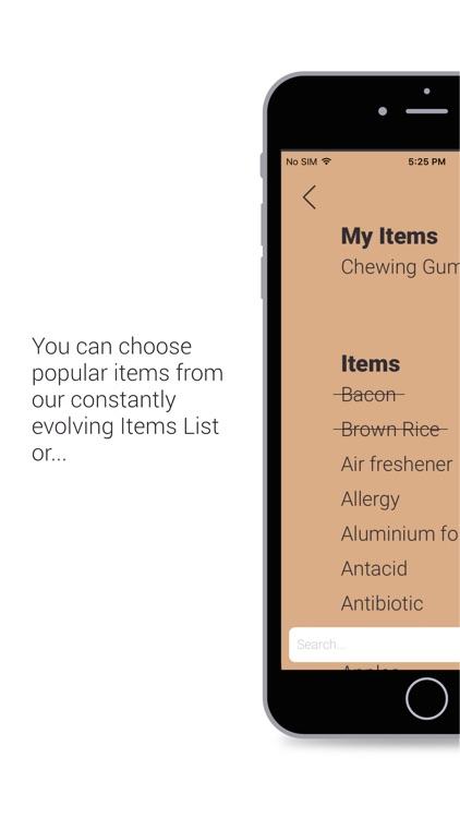 daFridge - Your Grocery List Helper