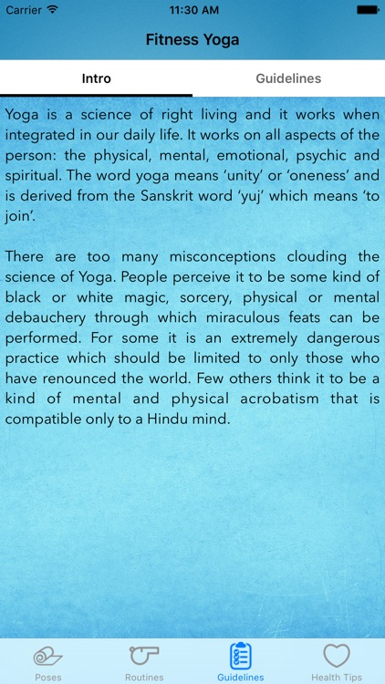 Fitness Yoga - The Best Fitness App screenshot-3