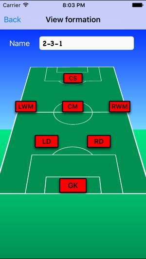 Youth soccer lineup on the app store screenshots maxwellsz