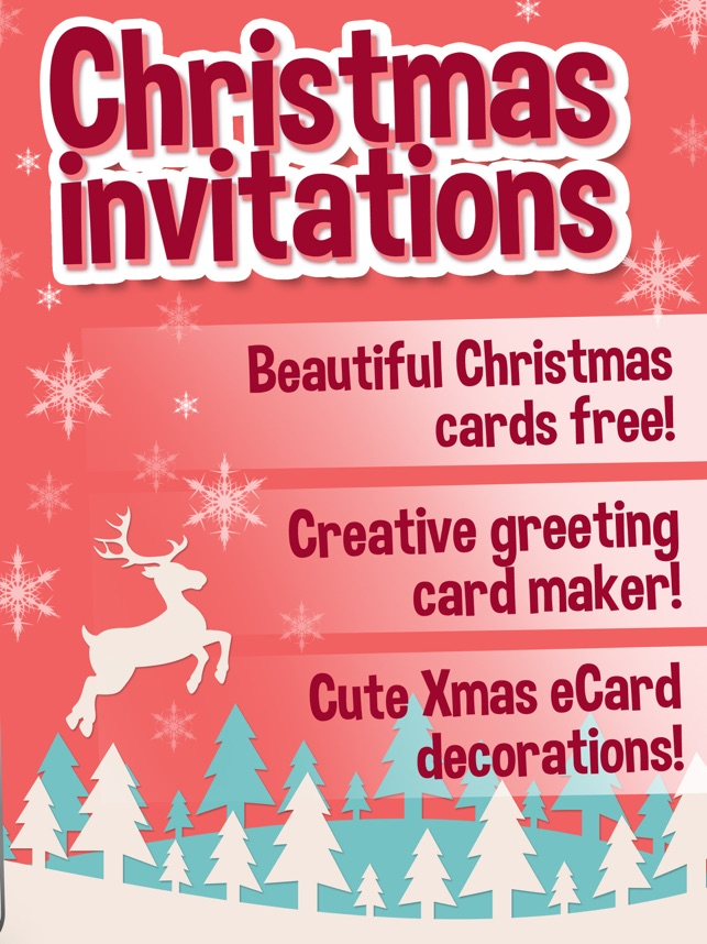 christmas invitations pro merry xmas cards maker on the app store