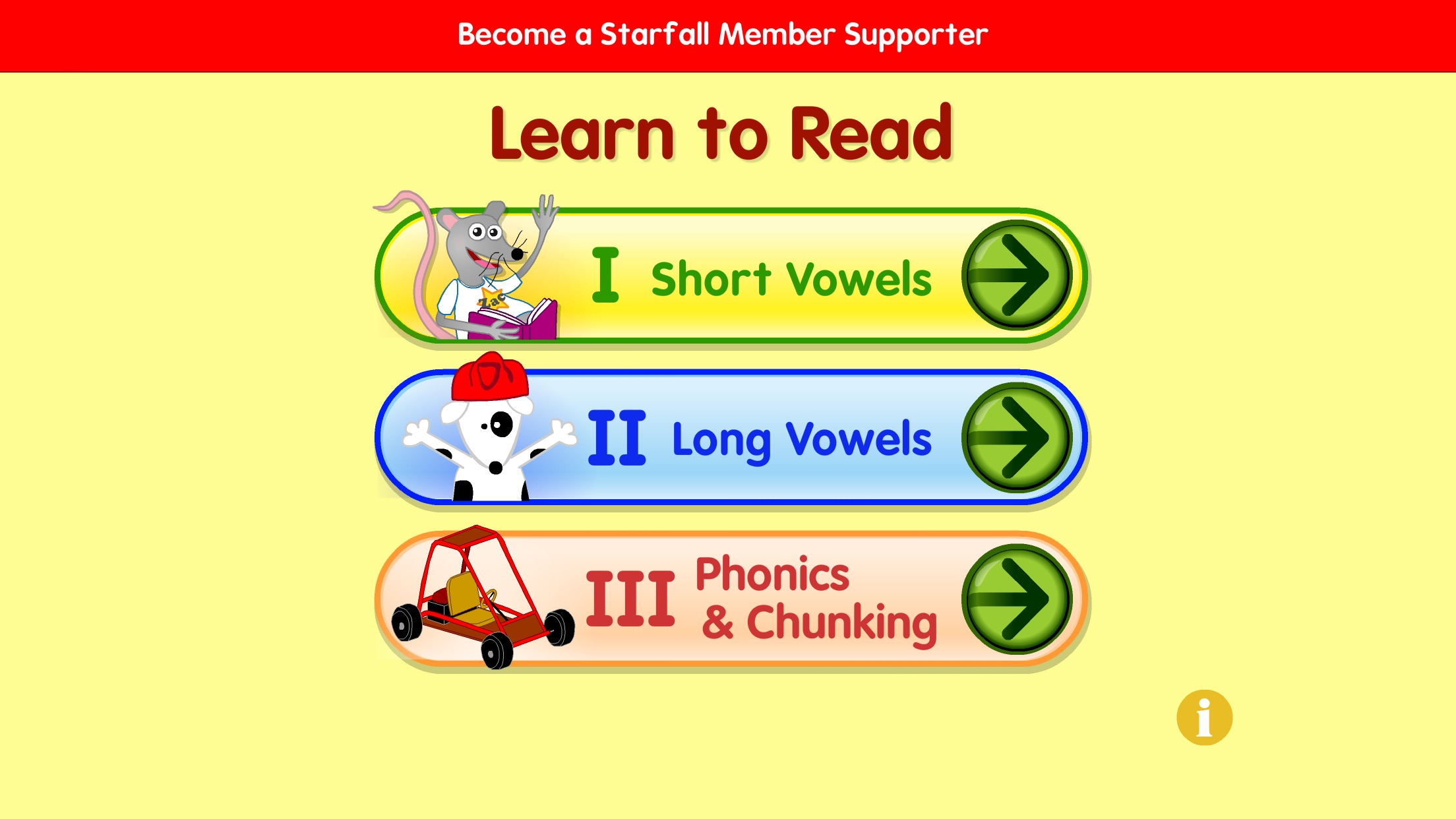 Starfall Learn to Read Screenshot