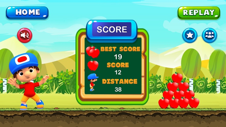 Super Jungle World - Boy Run Adventure Apple screenshot-3