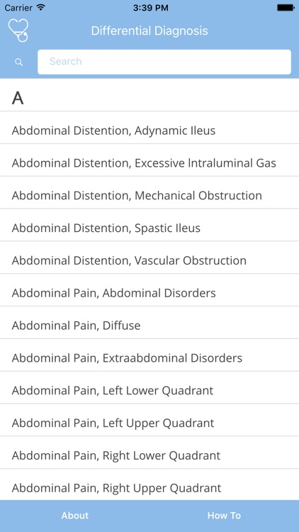 Differential Diagnosis by Ease Me