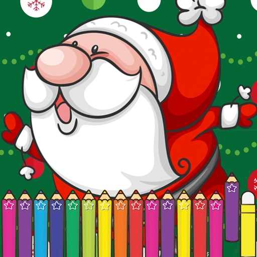 Christmas Coloring Book for Preschoolers kid
