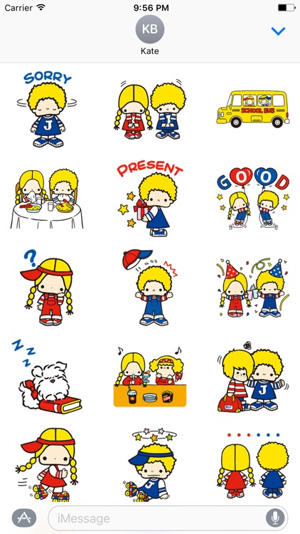 Cute Couple Stickers Pack - iMessage