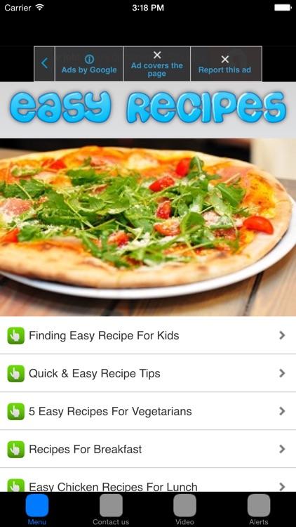 Easy Recipes & Healthy Recipes