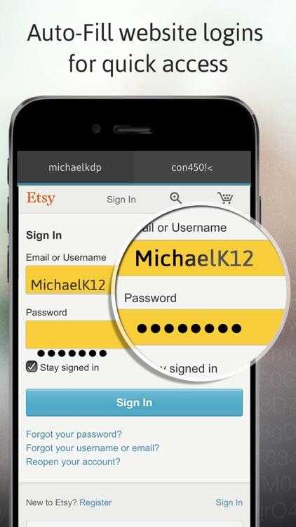 Passible Password Safe Lock screenshot-3