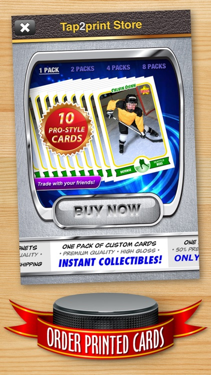 Hockey Card Maker - Make Your Own Custom Hockey Cards with Starr Cards screenshot-4