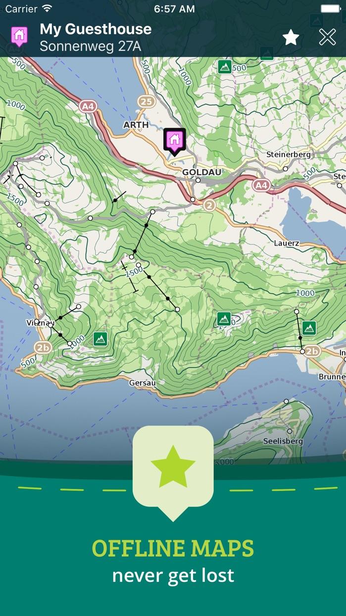 Pocket Earth PRO Offline Maps & Travel Guides Screenshot