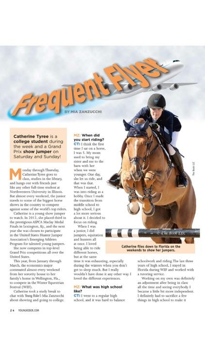 Young Rider magazine screenshot-3