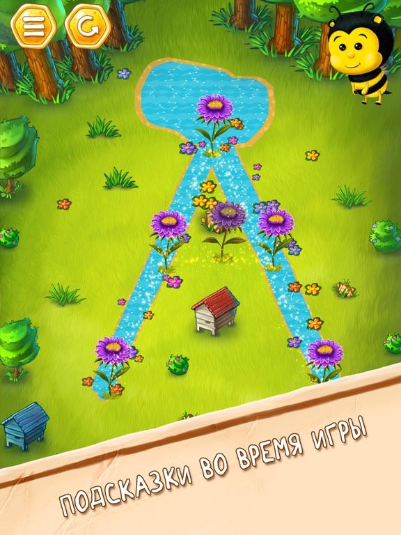 Скачать игру Пчела Вик - английский алфавит и няшный букварь