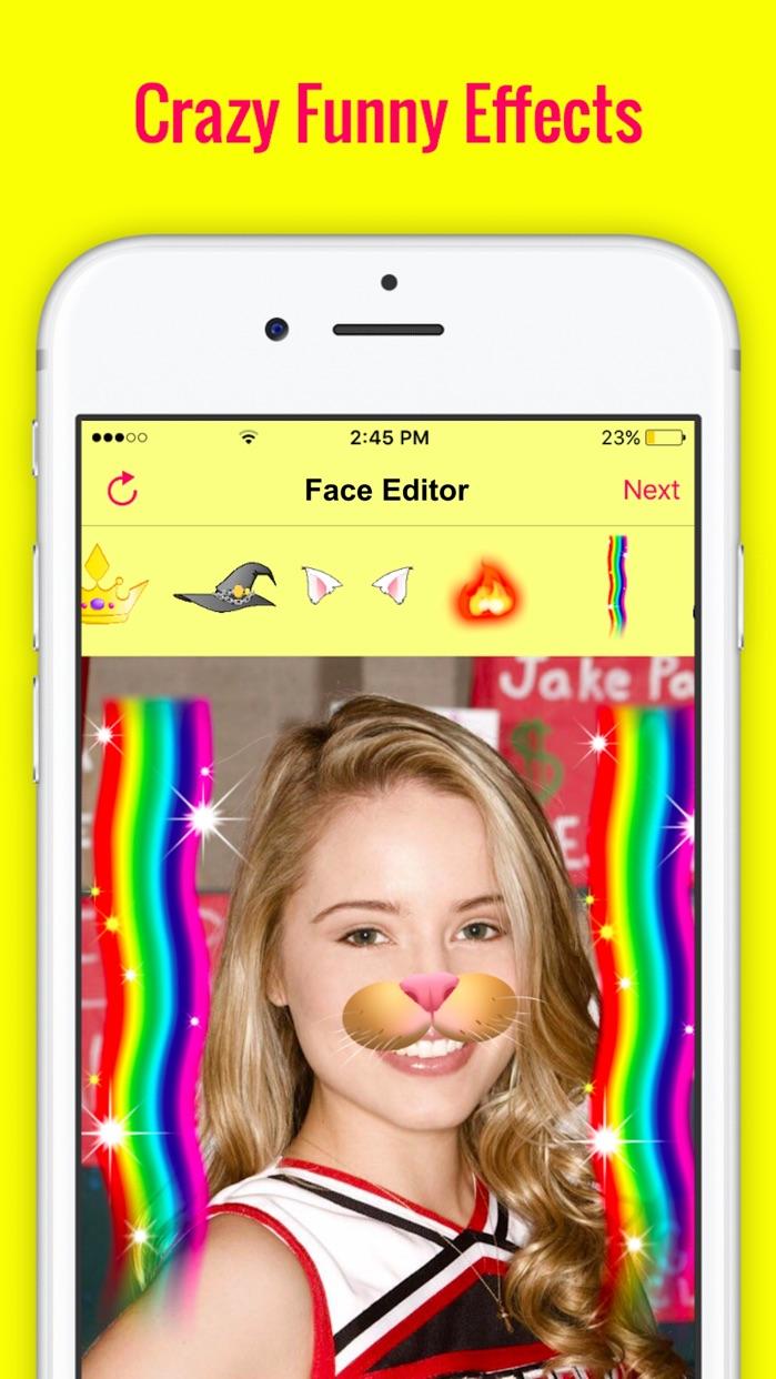 Fun FaceApp Photo Filters Swap Screenshot