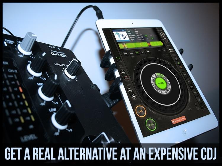 EDJ Free - DJ CDJ Mixer DJing Scratch Turntable