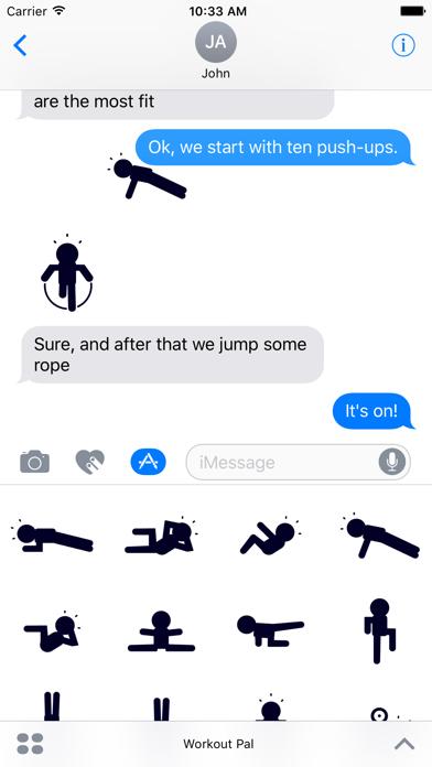 Screenshot #1 pour Workout Pal