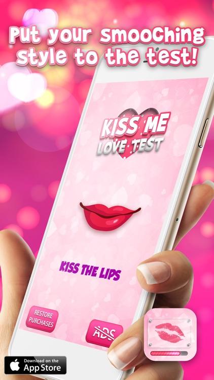 Kiss Me Love Test Game