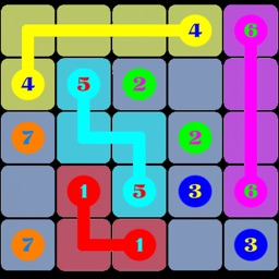 Number Puzzles:A Draw Lines  Decryption Free Game