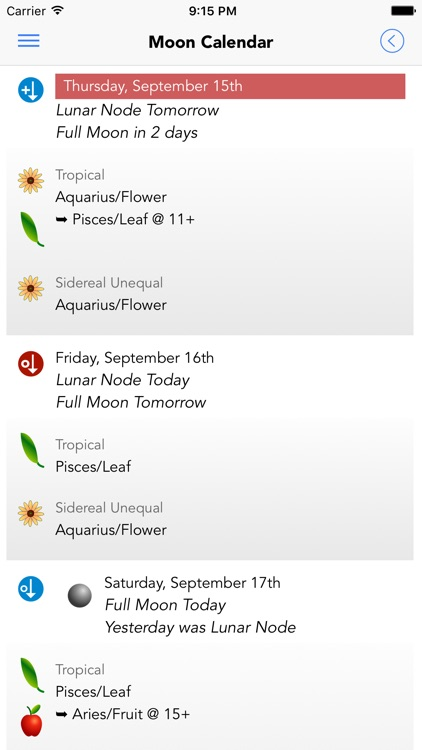 Garden Augur - Moon Calendar screenshot-1