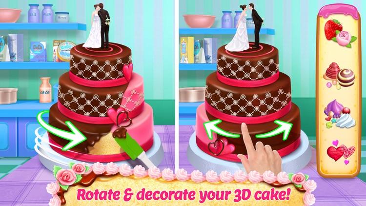 Real Cake Maker 3D Bakery screenshot-0