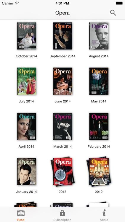 Opera Magazine screenshot-4