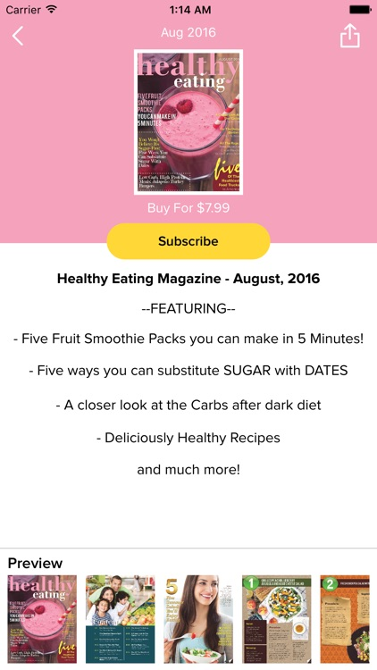Healthy Eating Magazine
