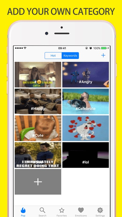 Gif Keyboard Chatting - Adult Emojis gifs Emoticons screenshot-3