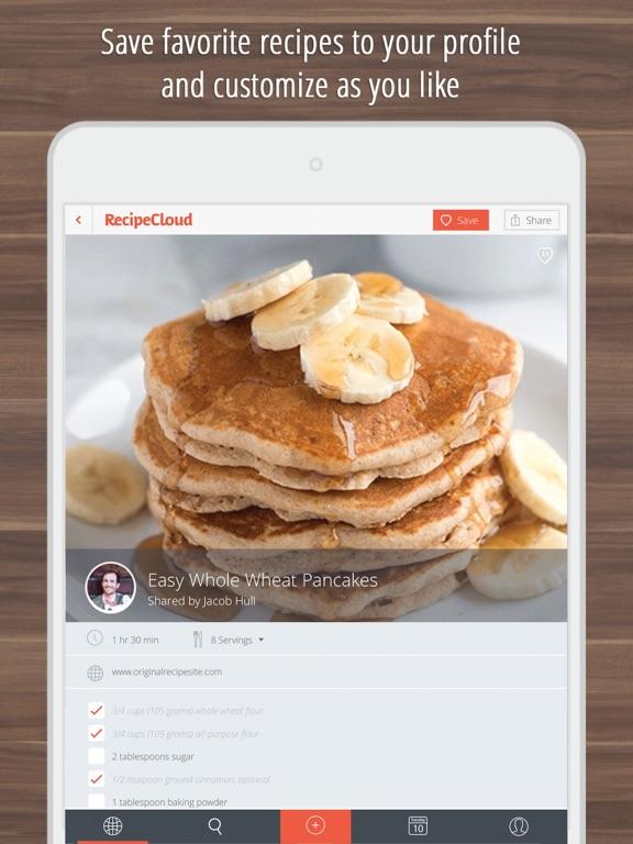 Recipe Cloud - Best Recipes Organizer & Shopping List screenshot