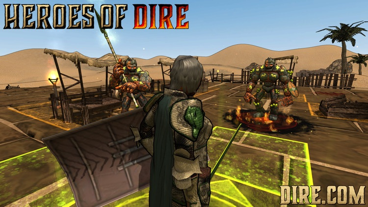 Heroes of Dire screenshot-4
