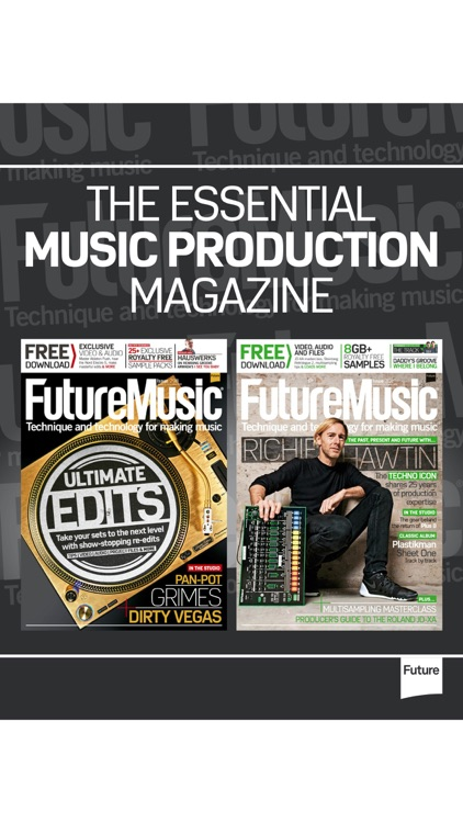Future Music: for music tech and production