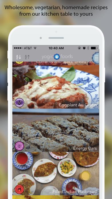Yogicfoods - BakingScreenshot von 1