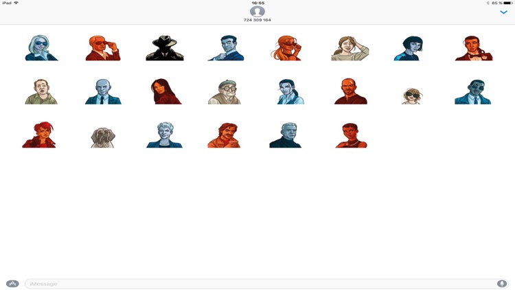 Codenames Stickers