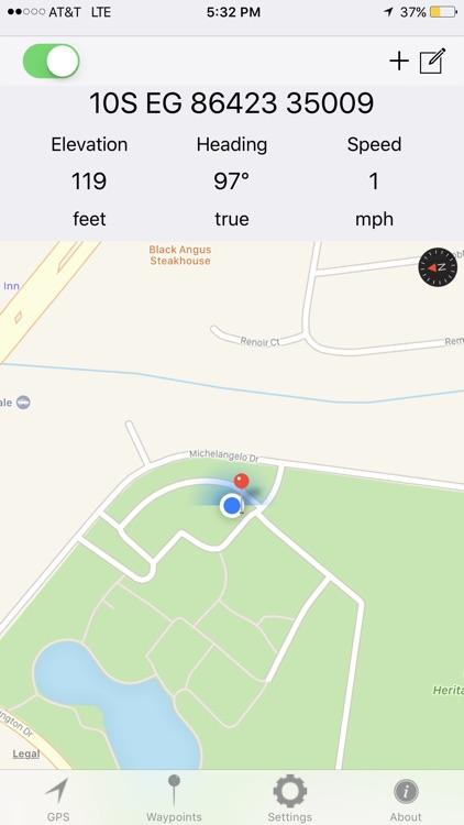 MGRS GPS