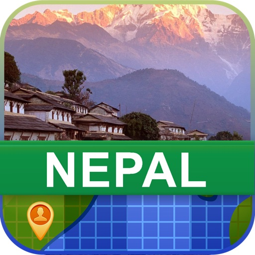 Offline Nepal Map - World Offline Maps