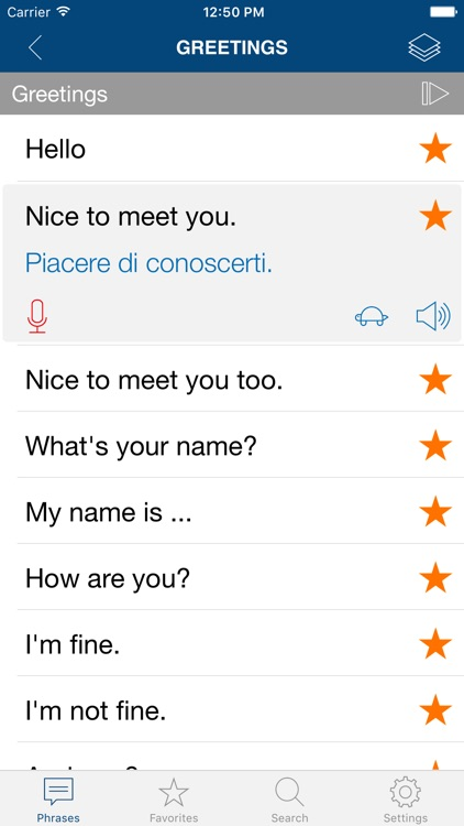 Learn Italian Phrases Pro