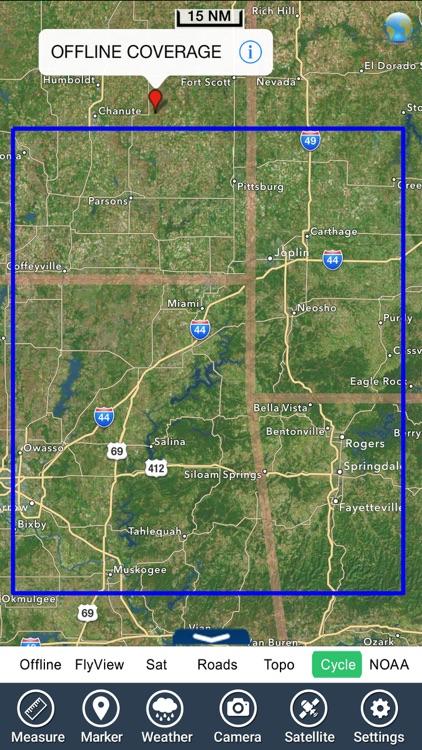 Grand Lake o the Cherokees GPS charts Navigator screenshot-4