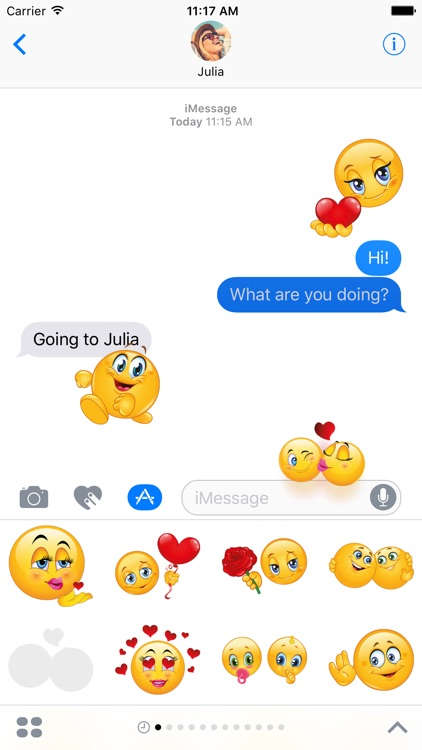 Megapack Love Emoji – Extra Stickers for iMessage