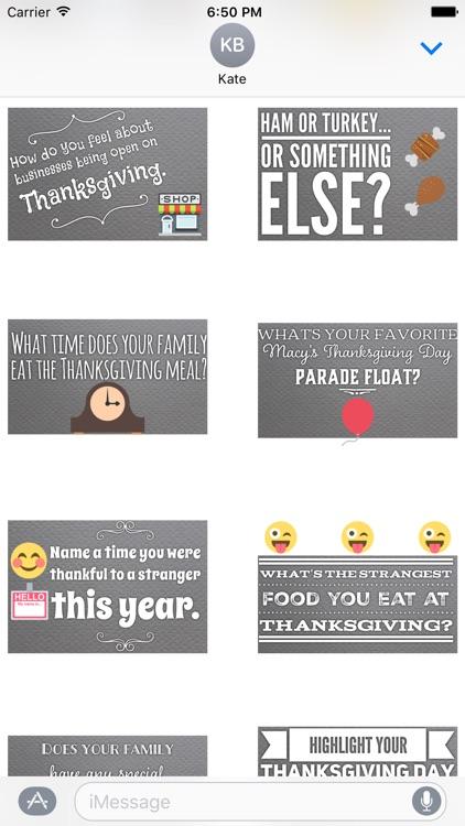 GladLibs: Thanksgiving Prompts screenshot-3