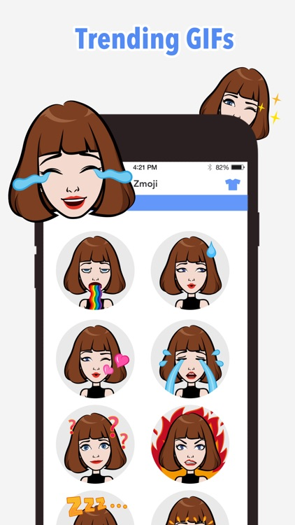 Emoji Me Keyboard | Zmoji screenshot-3