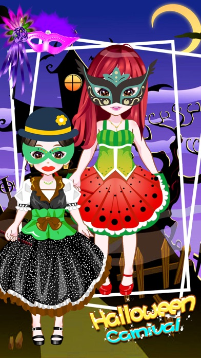 Halloween Carnival - Makeover Game for girls screenshot two